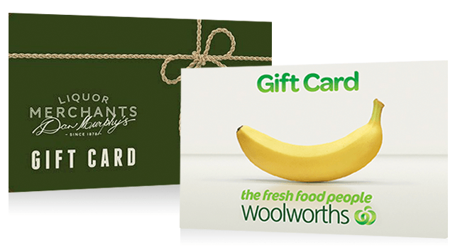 Free $25 Dan Murphy Voucher or Woolworths Gift Card