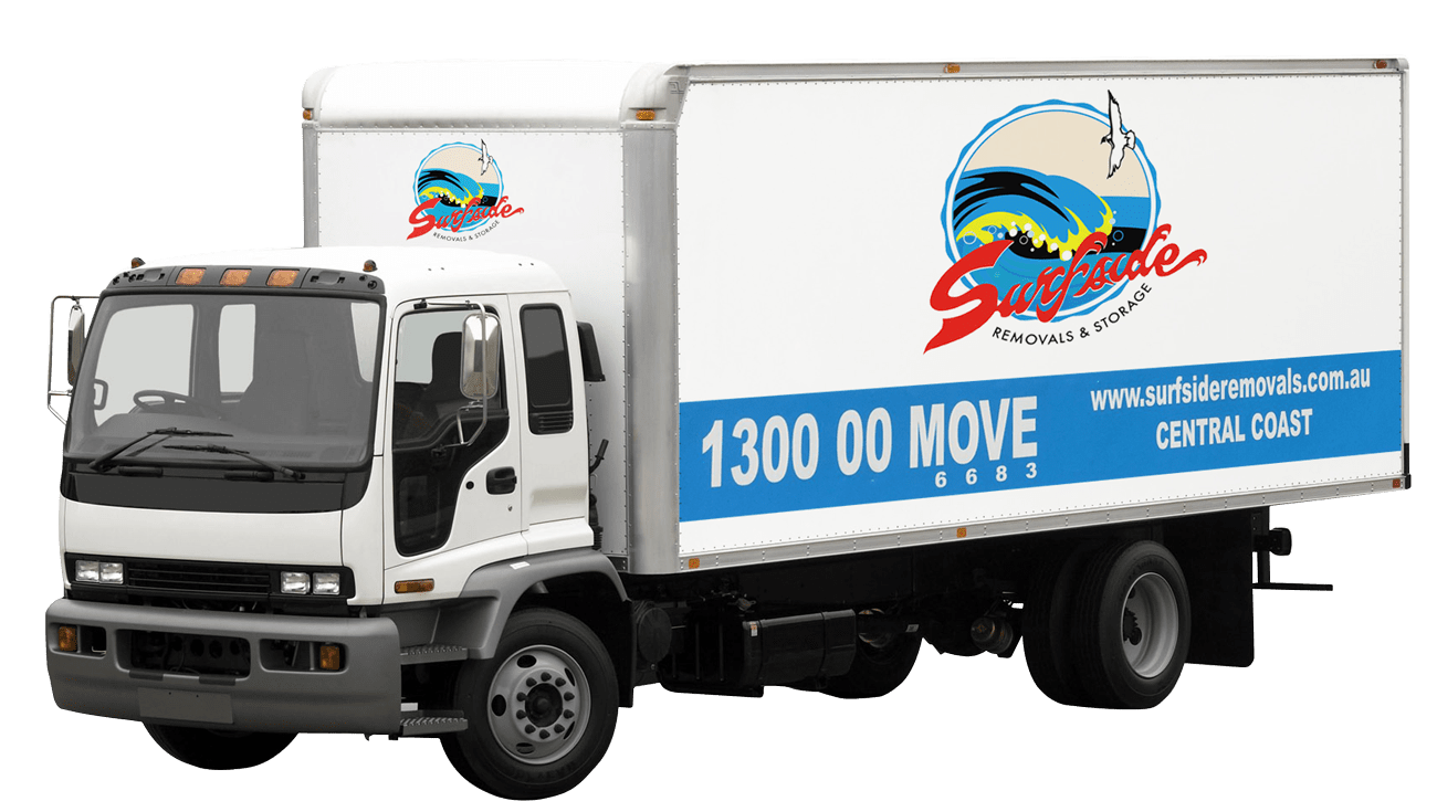 Part of our Central Coast removals fleet
