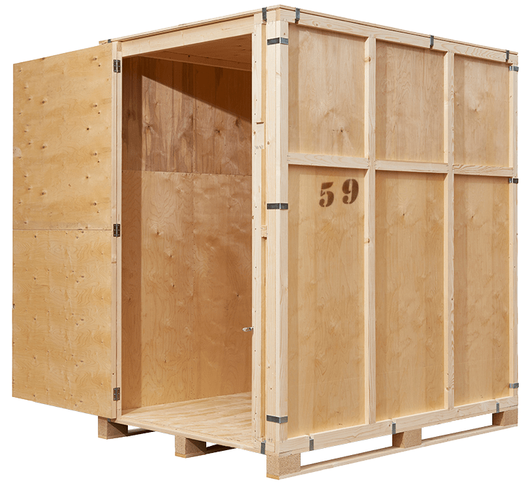 Surfside Removals & Storage West Gosford - large 10m3 timber modules available now!