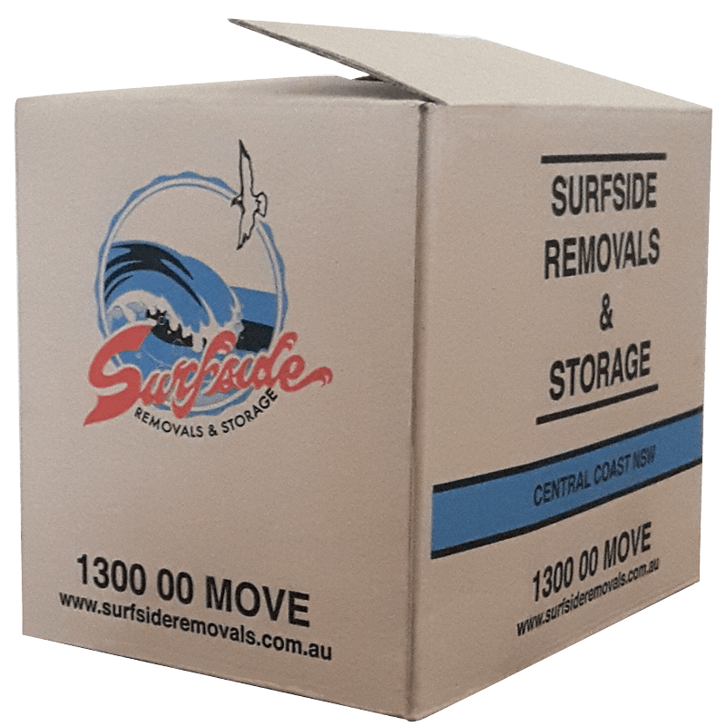 Free moving boxes when you move with Surfside Removals